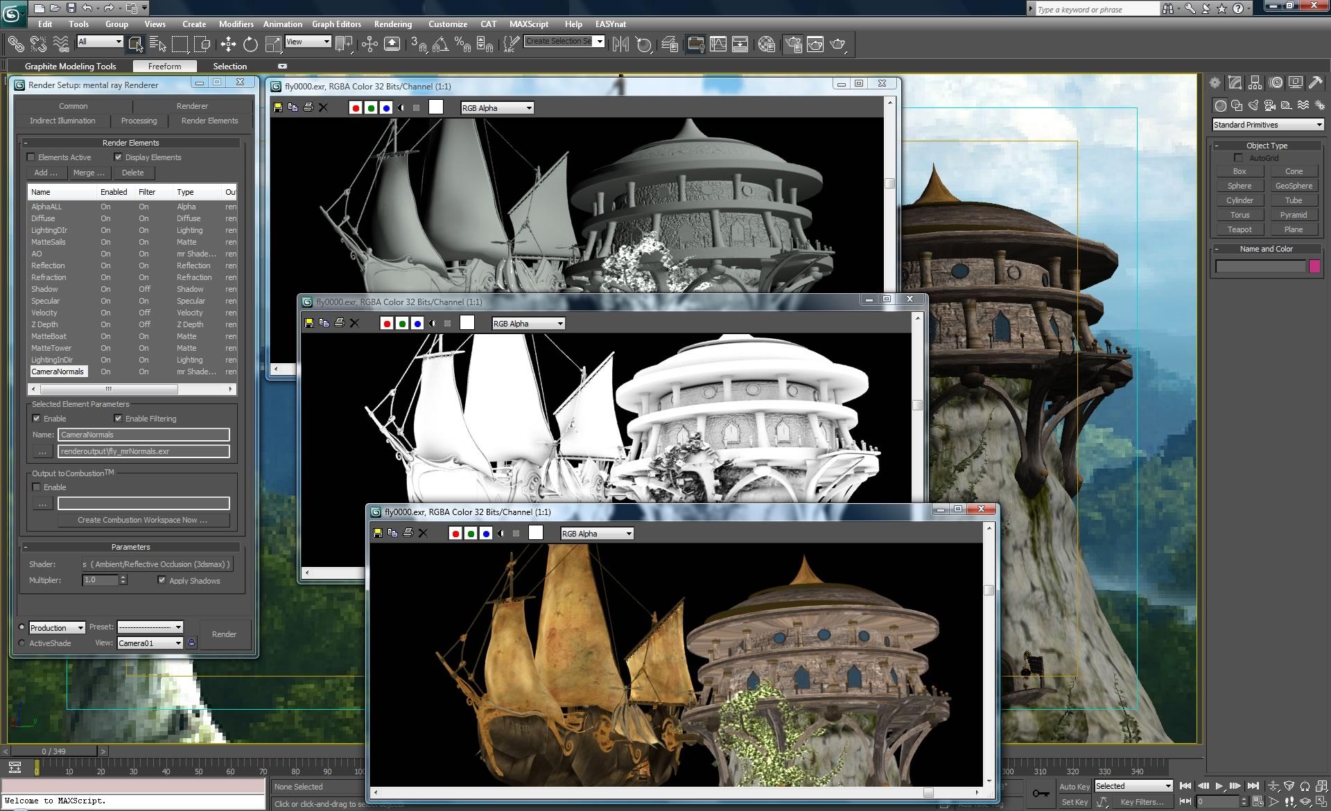Кейген к 3d Max 2009 - картинка 2
