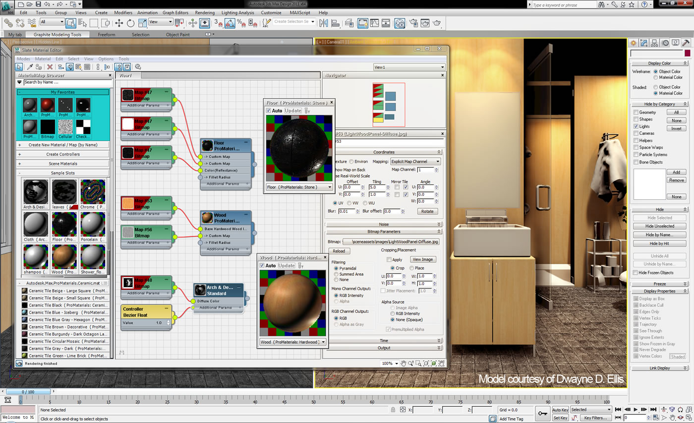 Material Editor 3DS Max Design